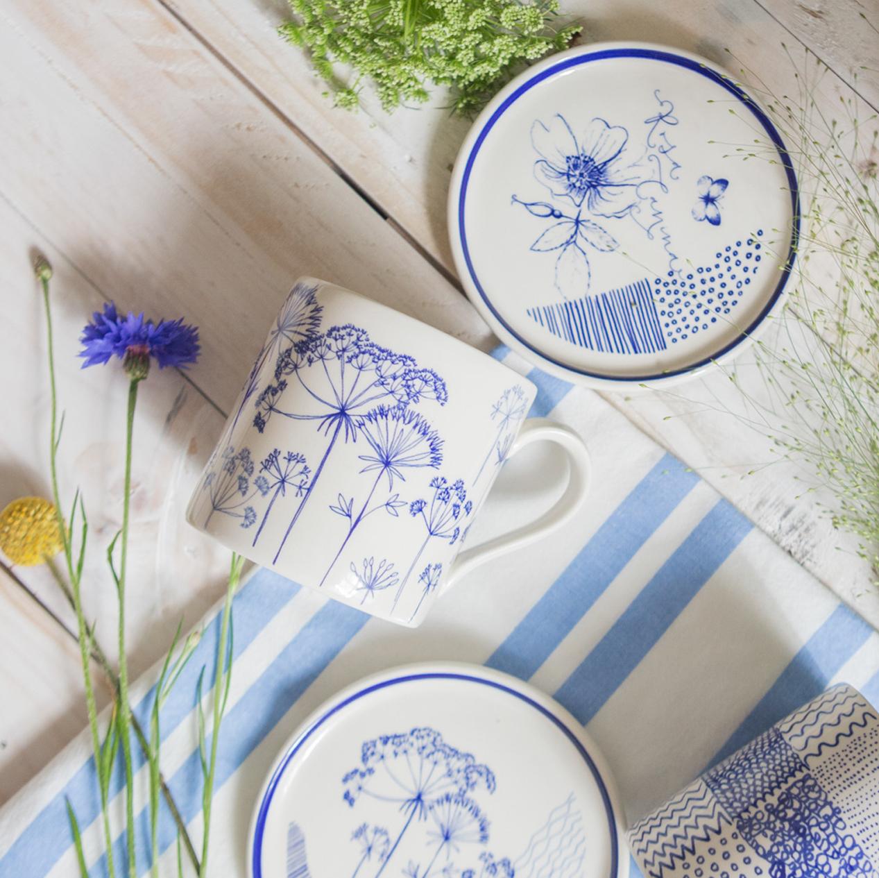 Mugs, Plates & Jugs