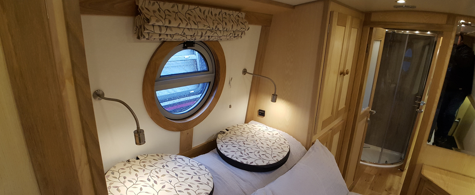 Porthole window dressings