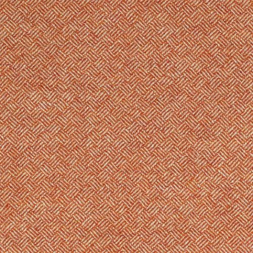 Bronte Parquet Orange Indoor Seating Cushion