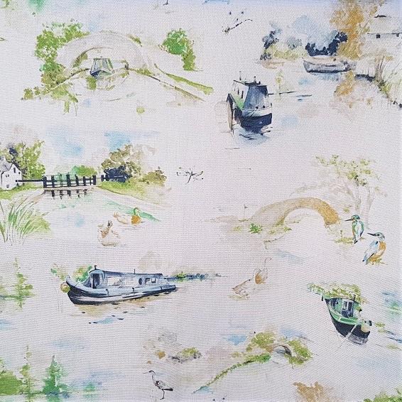 Summer Canal Scene