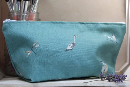 Autumn Wildlife Ditzy Make-Up Bag