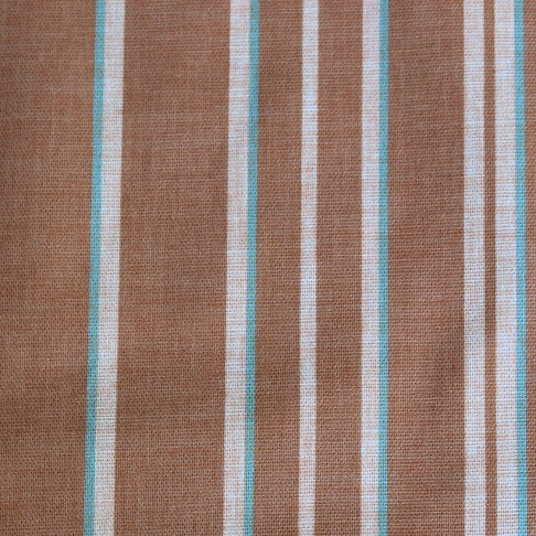 Autumn Aqua Marine Stripe Roman Blind