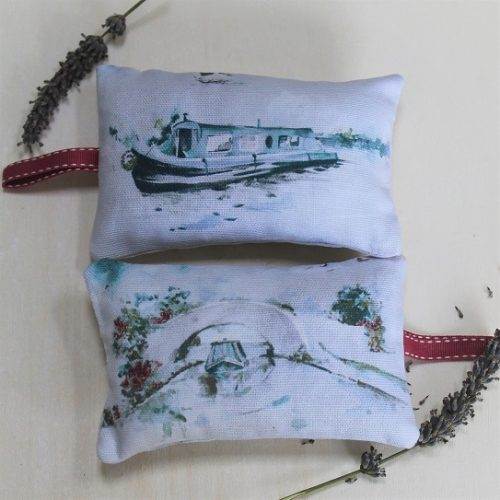 narrowboat lavender bag