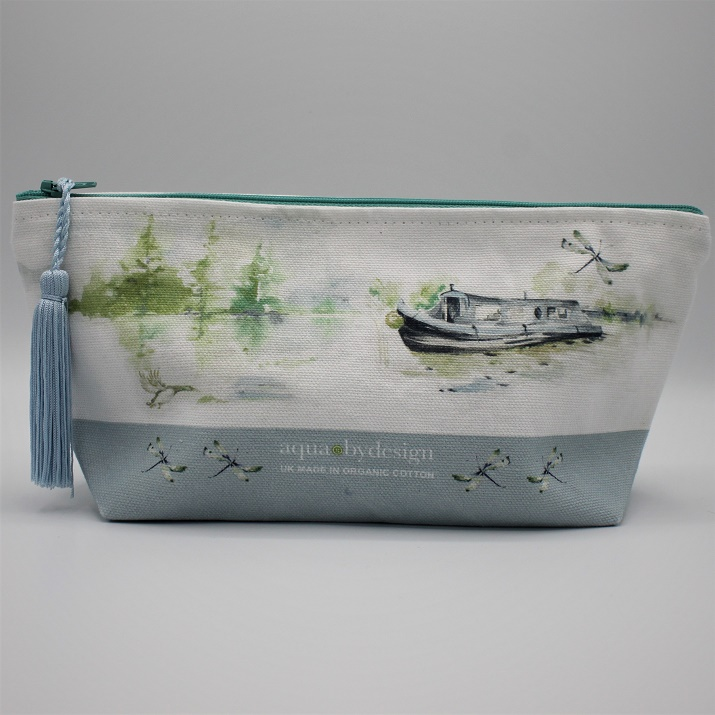 summer canal make-up bag