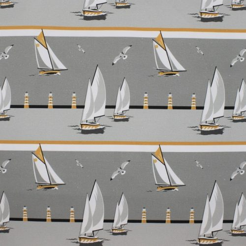 Nautical Grey Boats