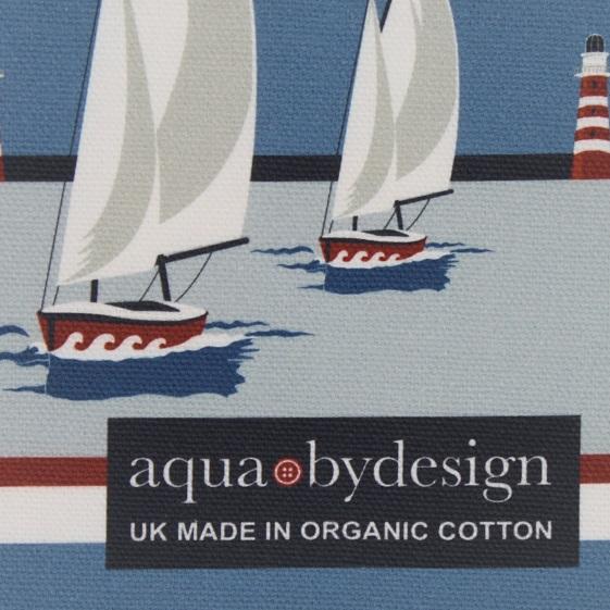 Nautical Blue Tea Towel