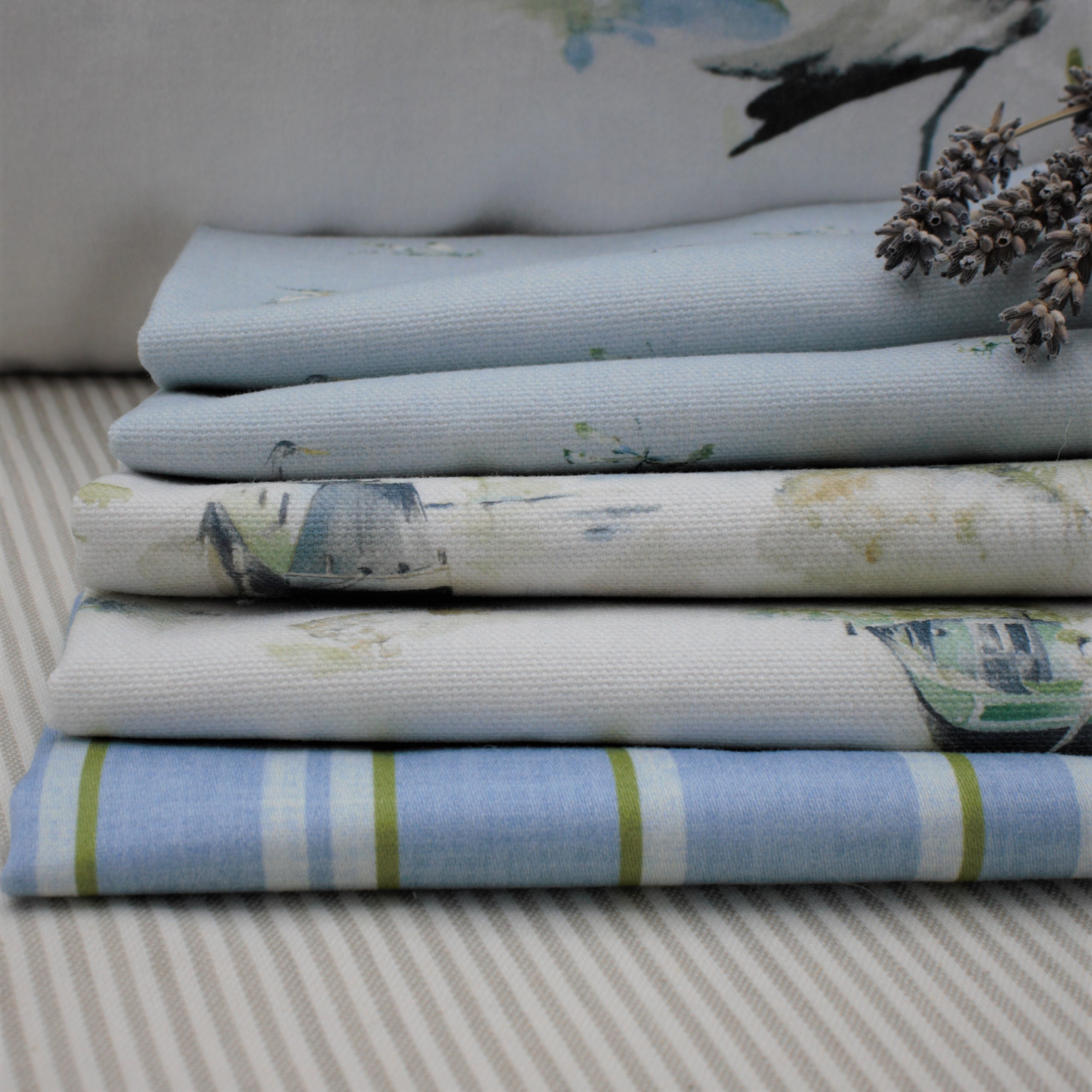 Boat Fabric, Boat curtains, boat roman blinds, boat upholstery