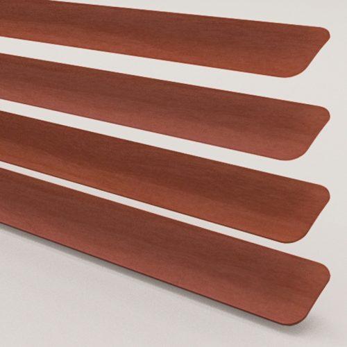 Wood Effect Walnut Aluminium Venetian Blind